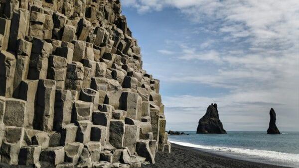 Reynisfjara cliffs