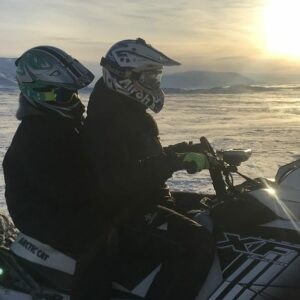Lake Mývatn Snowmobile