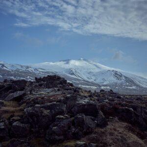 Snaefells glacier